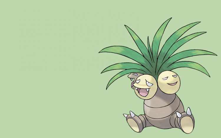 pokemon monster exegguctor