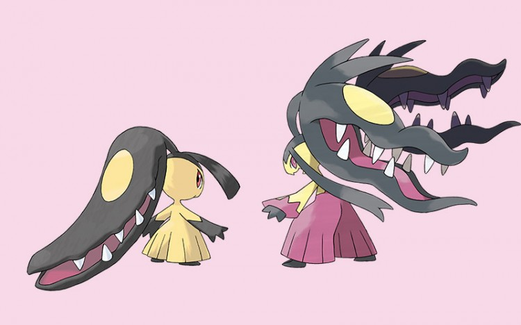 pokemon monsters mawile and megamawile