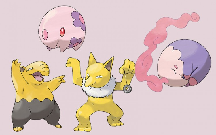 psychic type pokemon