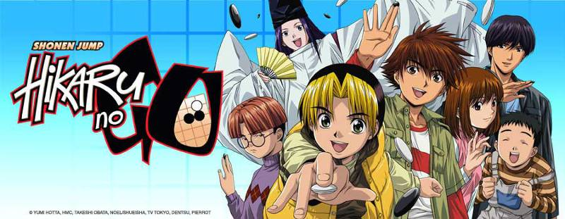anime title screen hikaru no go