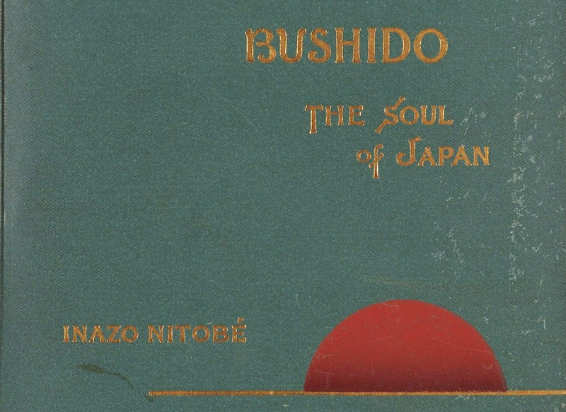 "The cover of ""Bushido: The Soul of Japan"""