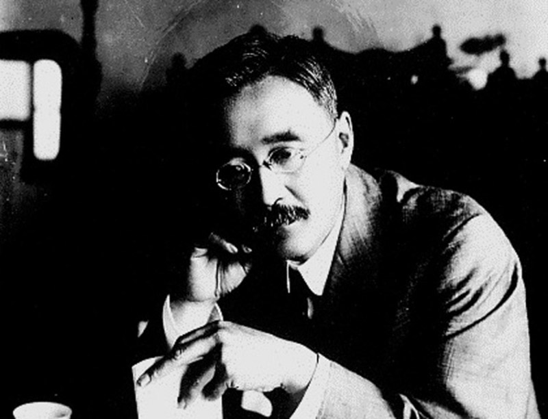 "The author of ""Bushido: The Sould of Japan"", Inazo Nitobe"