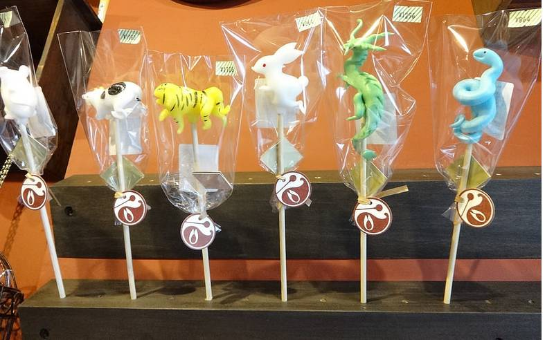 confectionary treats shaped like animals