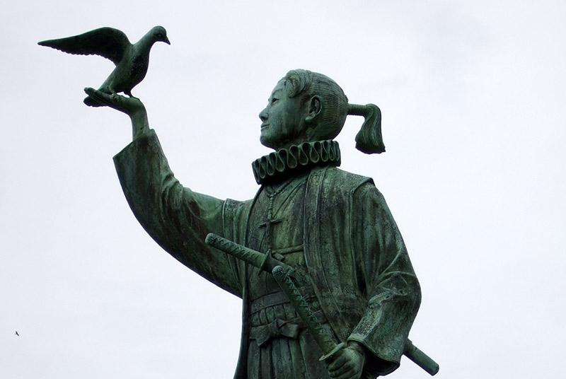 statue of Amakusa Shiro