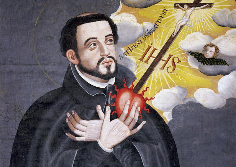 painting of Jesuit missionary Francis Xavier