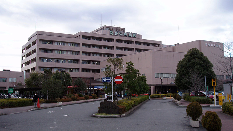 Exterior of a hospital in Japan