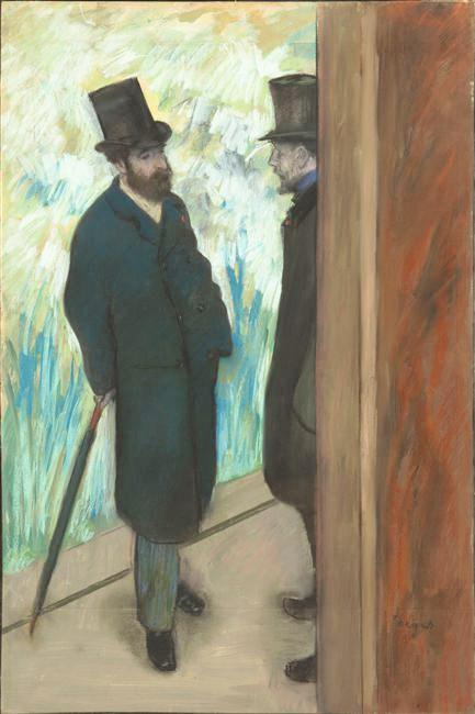 The work of French painter Edgar Degas