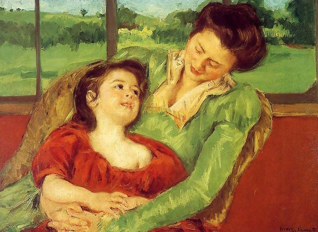 The work of American painter Mary Cassatt