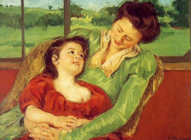 The work of American painter Mary Cassatt