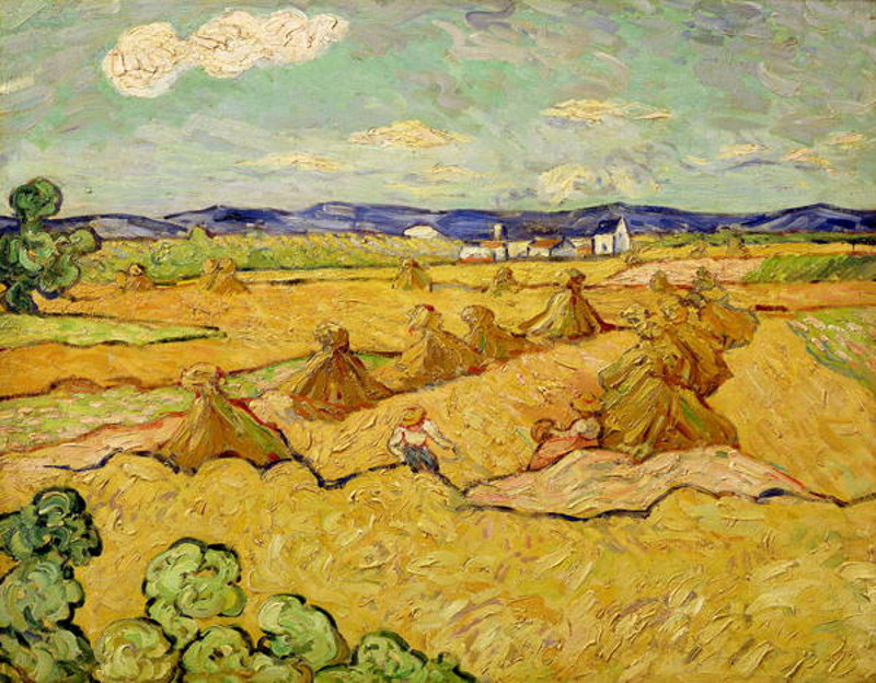 Painting from prominent Dutch artist Vincent Van Gogh