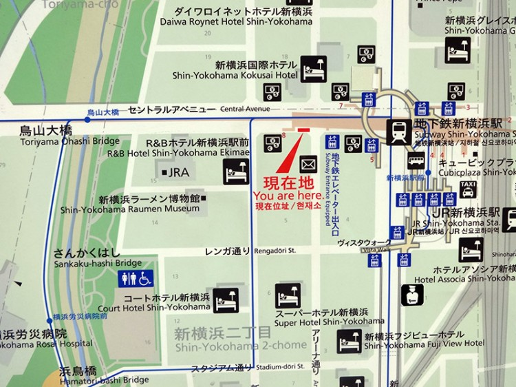 map of tokyo travel