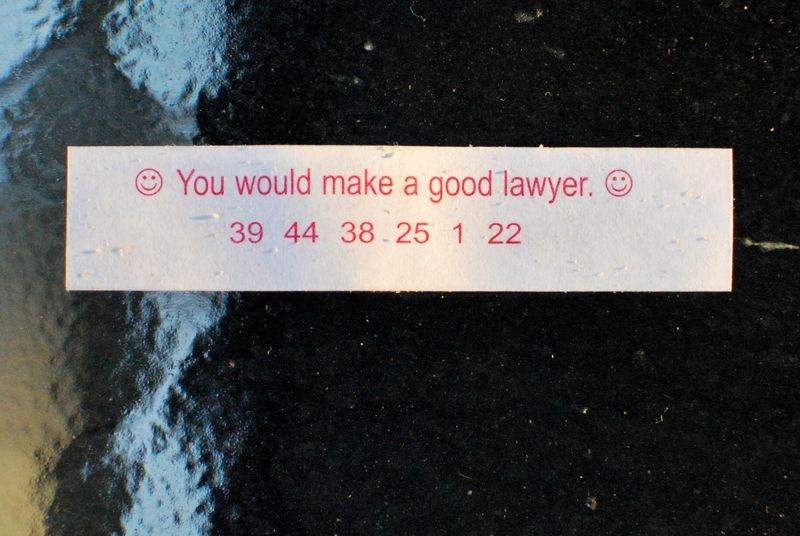 fortune cookie paper