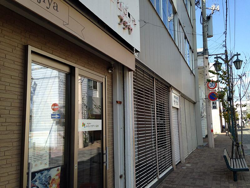 japan streets shuttered shops
