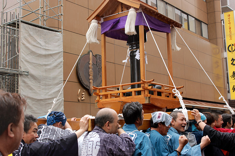 the black iron penis mikoshi