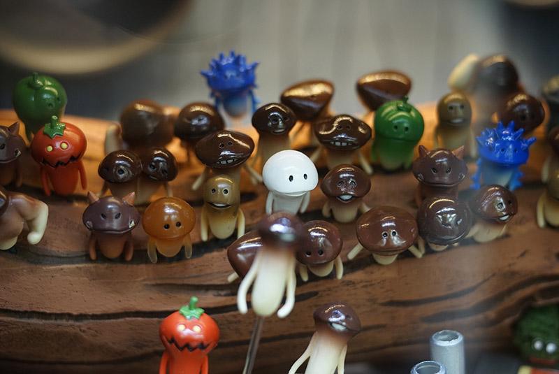 nameko tiny mushroom friends