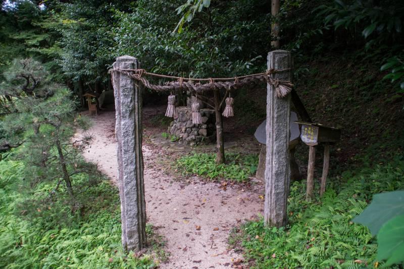 A shinto shrine in Shimane Prefecture