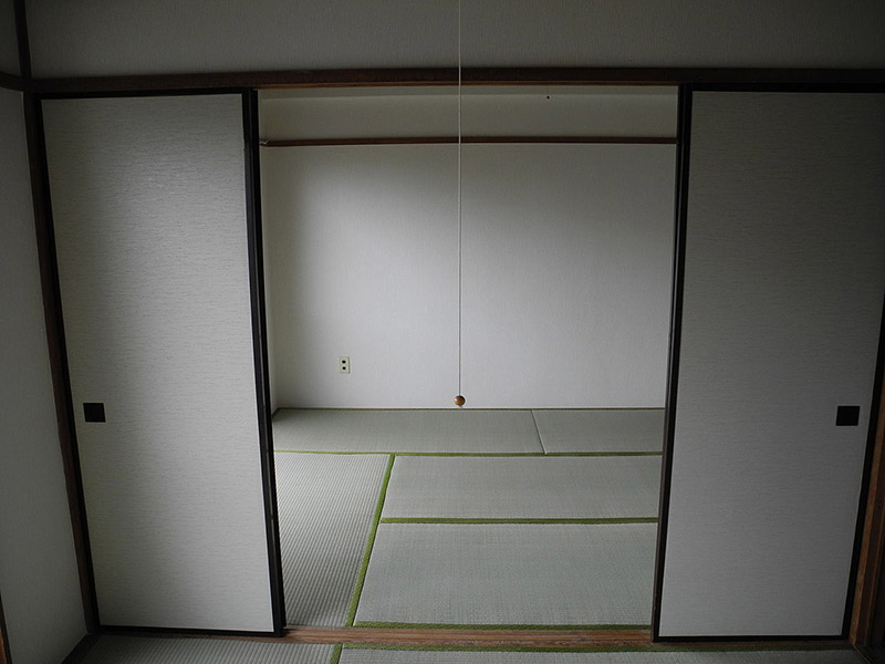 An empty 6 tatami apartment in Tokyo