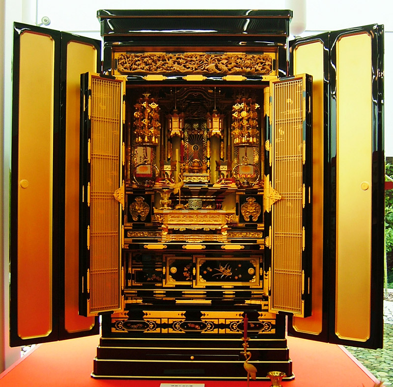 Buddhist home shrine