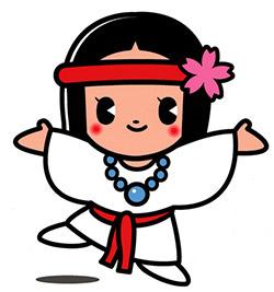 queen himiko mascot