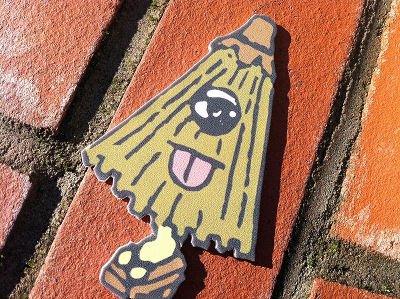 kasa obake tiny umbrella cartoon coaster