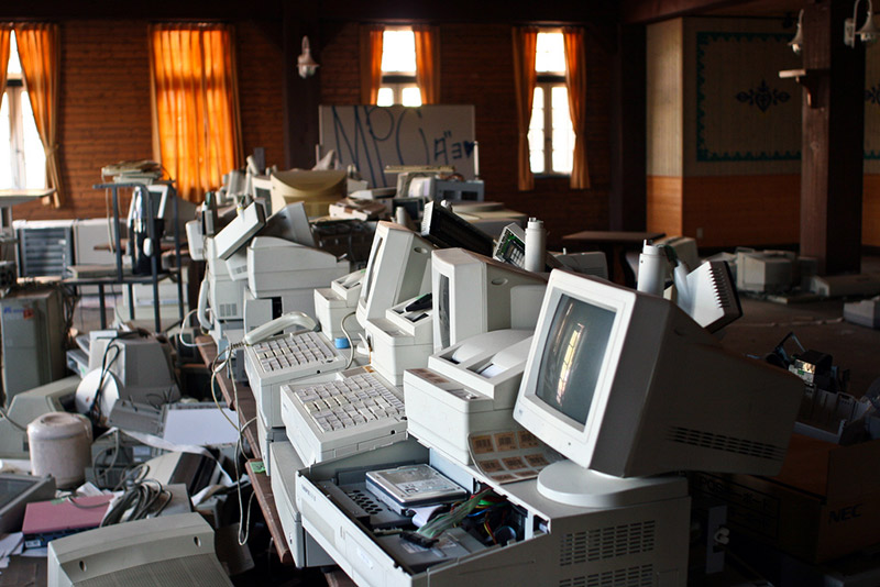 old computers in Japan