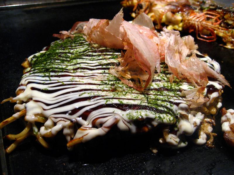 okonomiyaki Osaka style