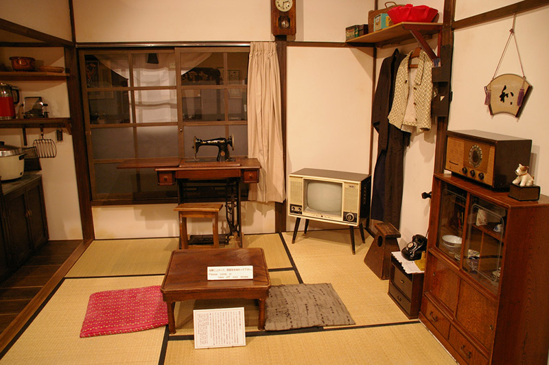 Show-era living room