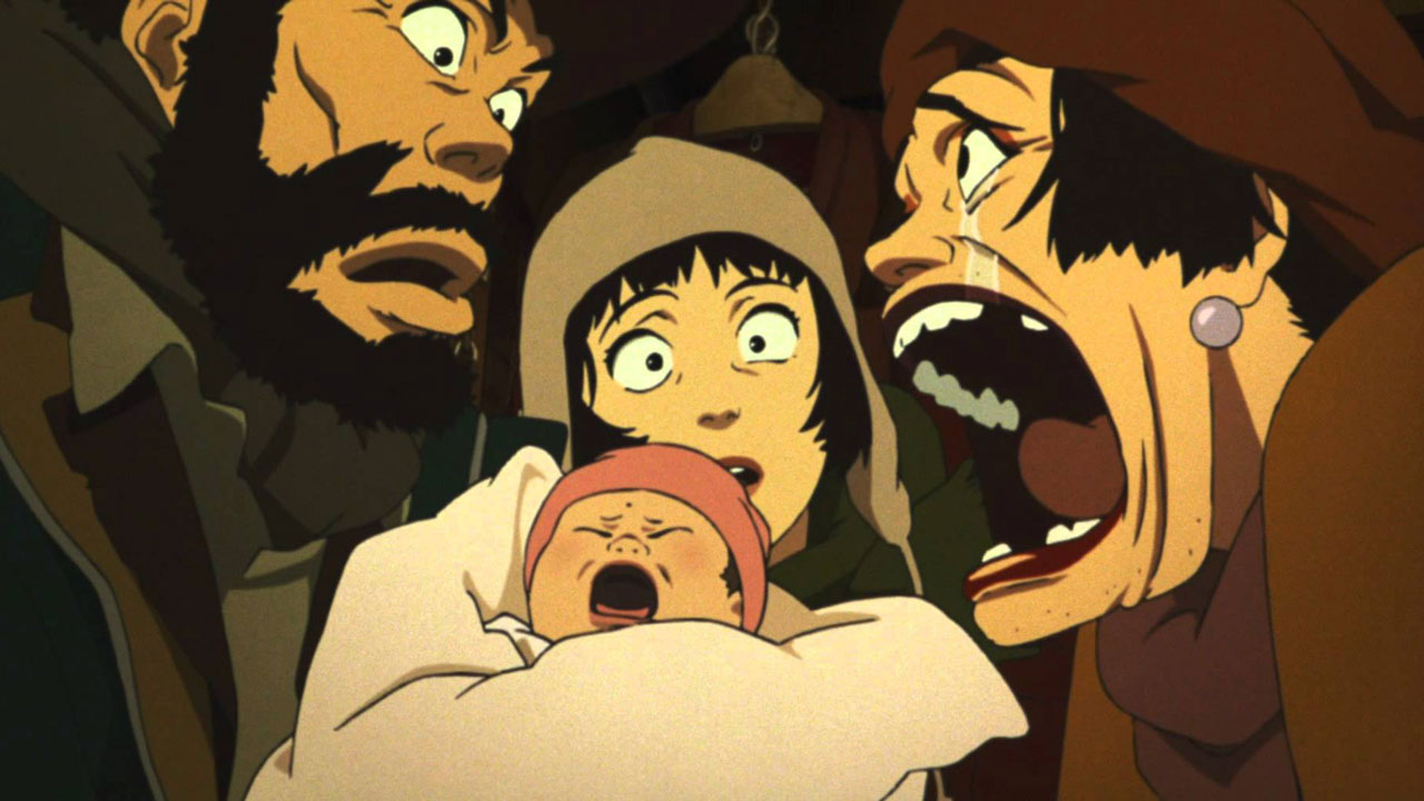 the best anime movie ever tokyo godfathers