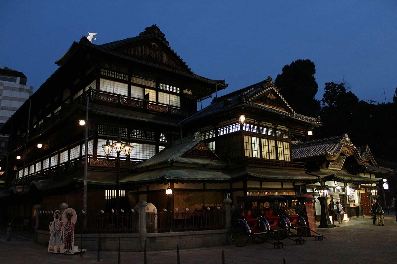 Dogo onsen bathhouse
