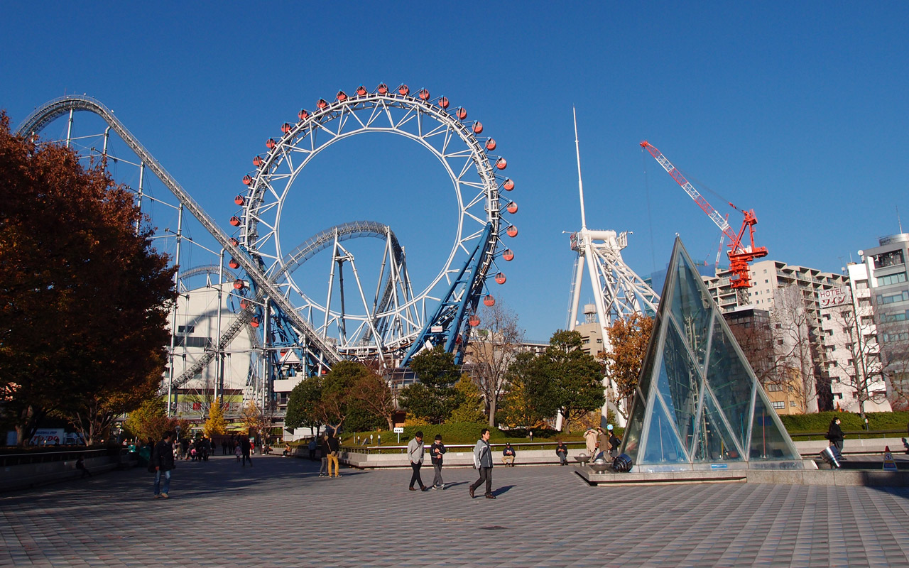 big o ferris wheel at tokyo dome city