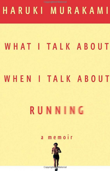 Cover of Haruki Murakami memoir