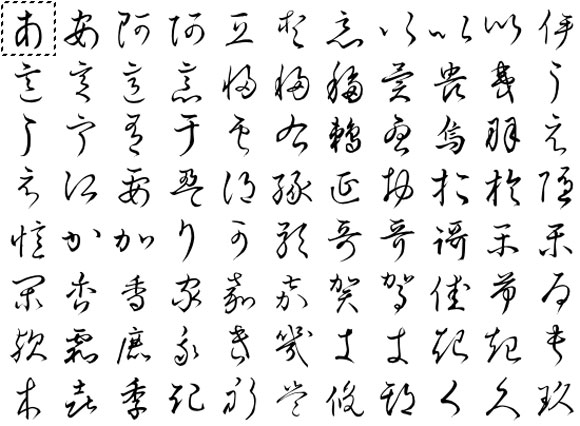 Hentaigana How Japanese Went From Illegible To Legible In  Years