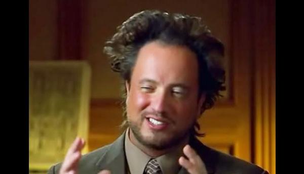 guy with crazy hair explaining something stoned looking
