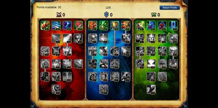 League of Legends Masteries