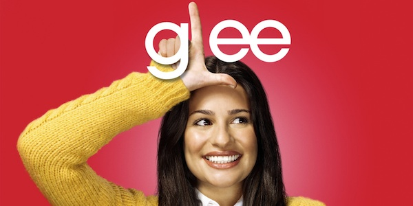 glee woman making l shape with hand on forehead