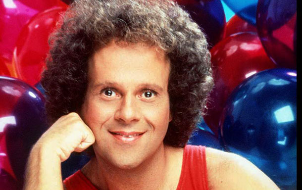 workout enthusiast richard simmons