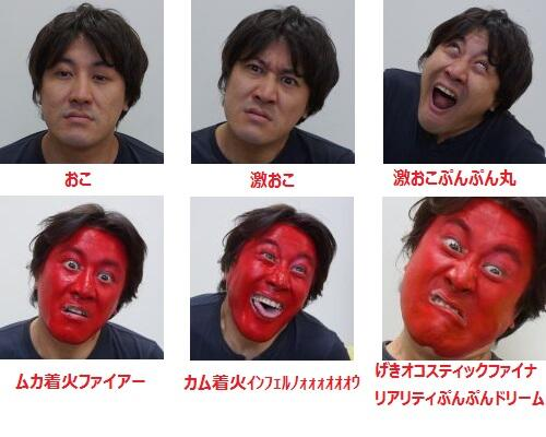 A fanmade rendition of the anger scale