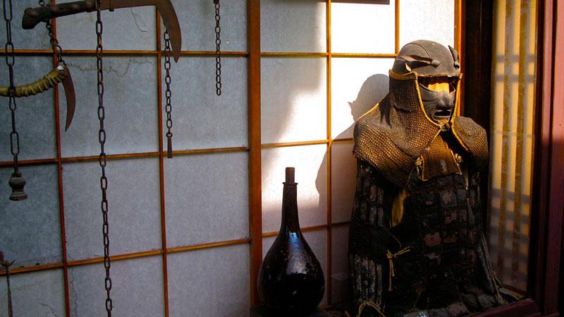 kobun samurai armor