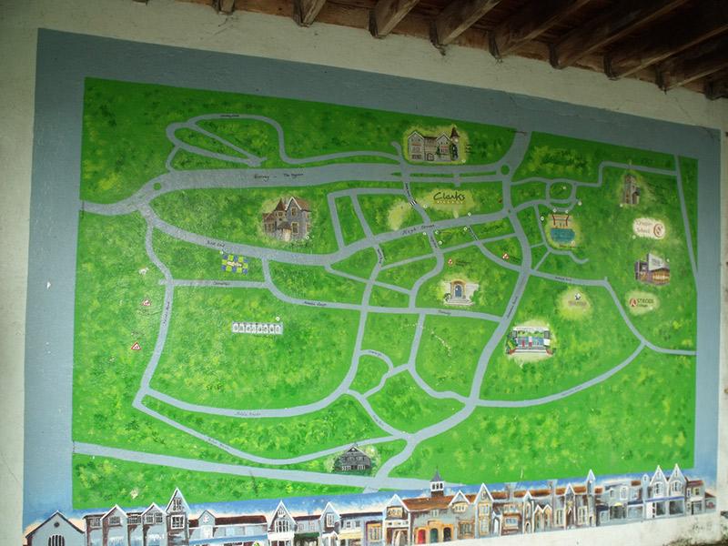kobun adjectives map of park
