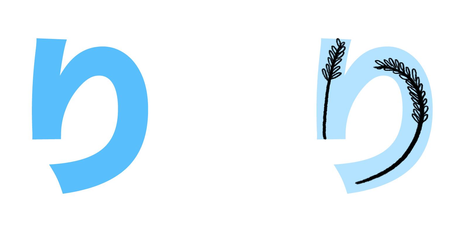 り hiragana mnemonic