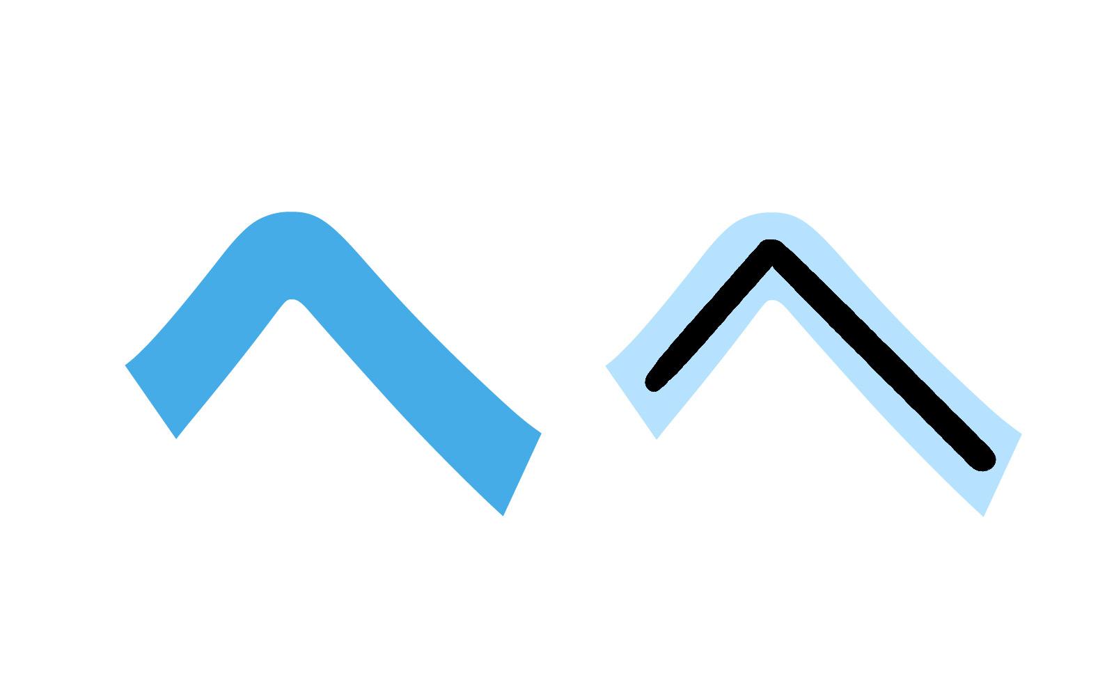 Katakana character ヘ mnemonic