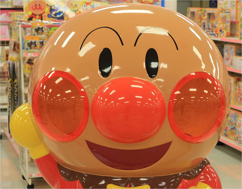 inflatable mascot in store