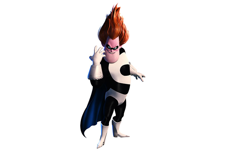 villain from animated film Incredibles