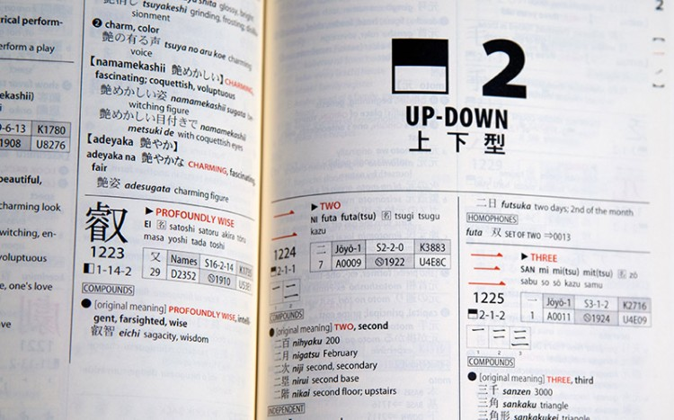 kodansha up down pattern how to use a kanji dictionary