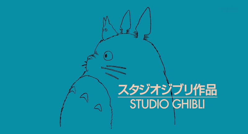 Title card for Totoro
