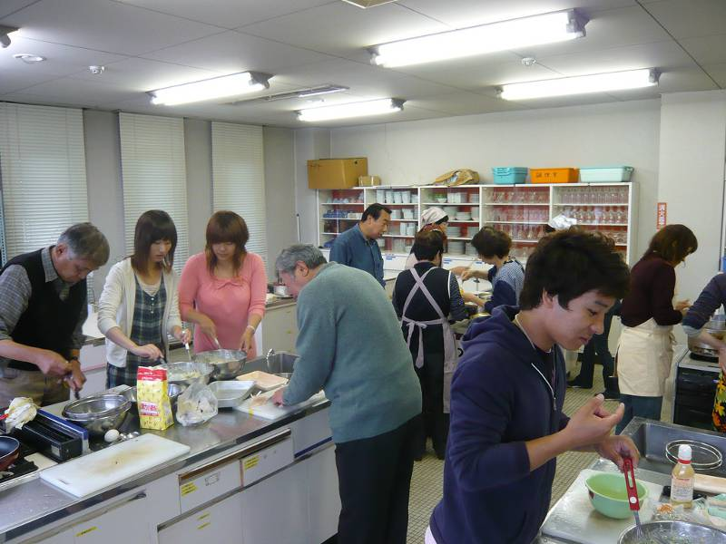 japanese school cooking club
