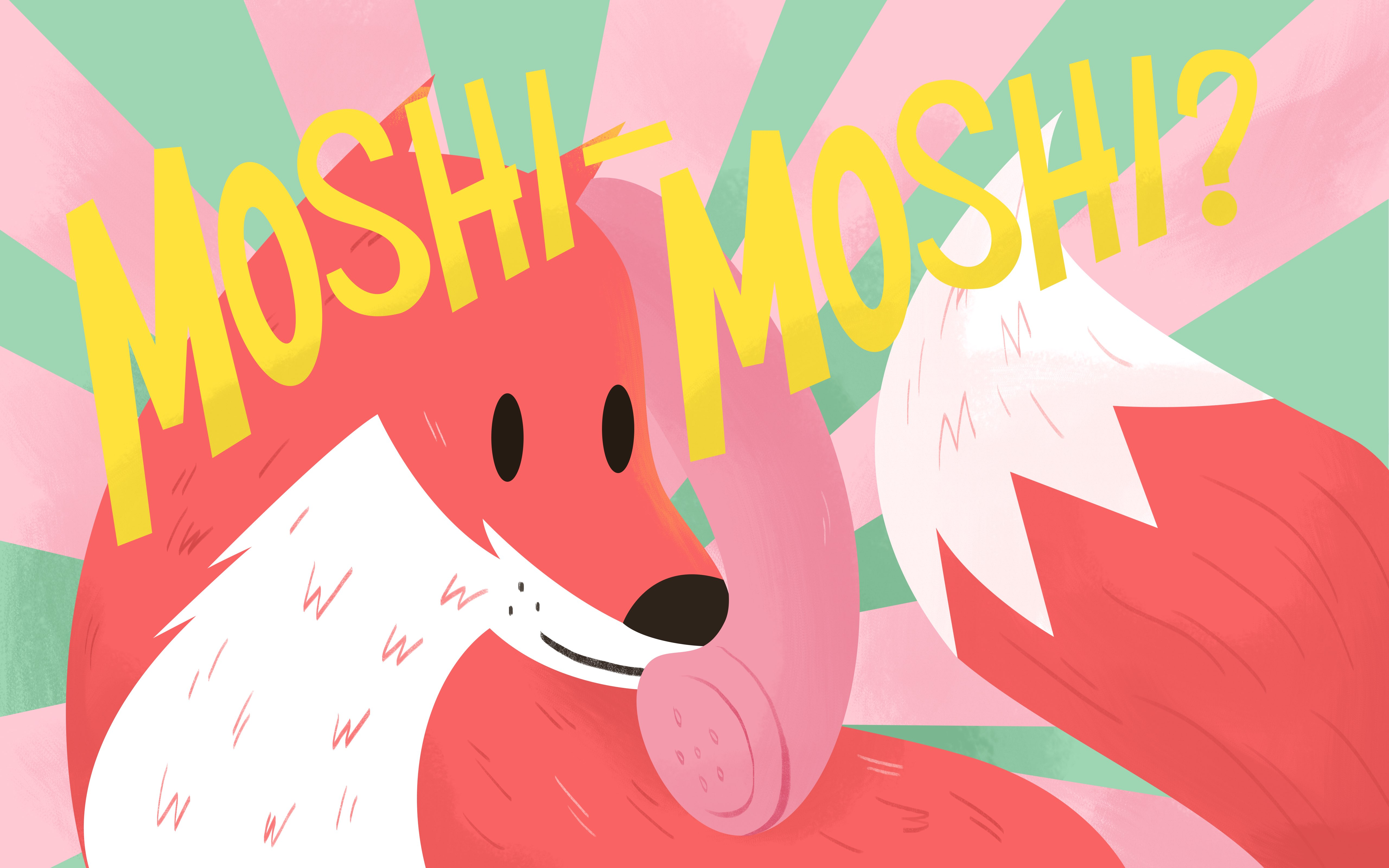 Moshi moshi what does it mean answering m4hsunfo