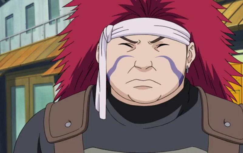 Chouza Akimichi, a dandere from Naruto