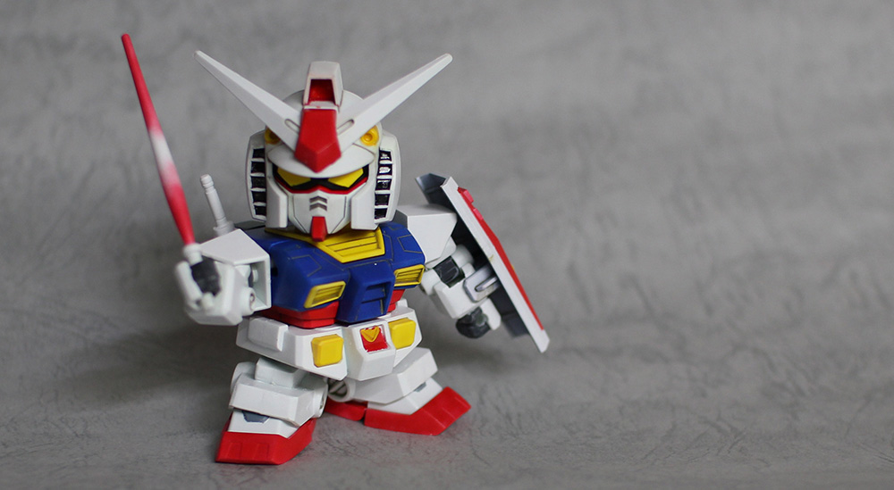 super deformed gundam toy