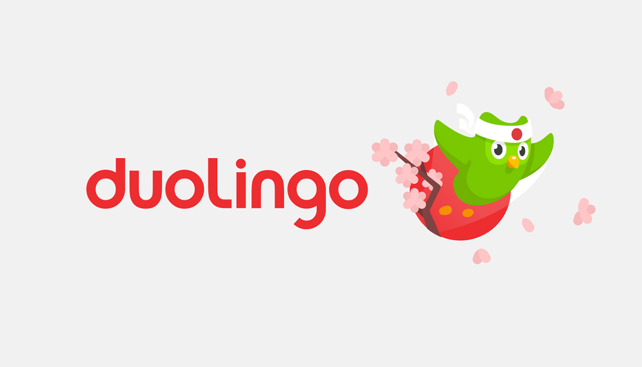 promo image for duolingo japanese app